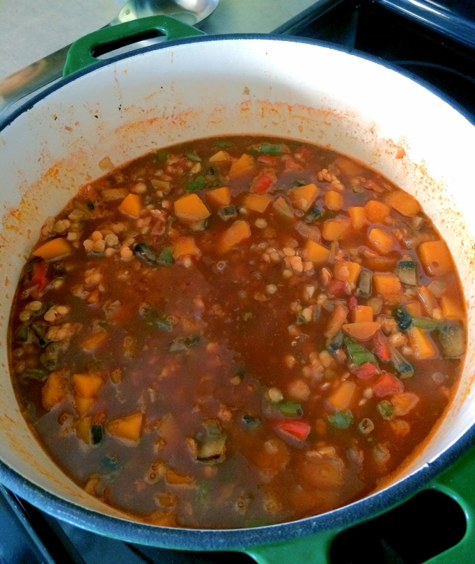 red lentil chili_cooking2
