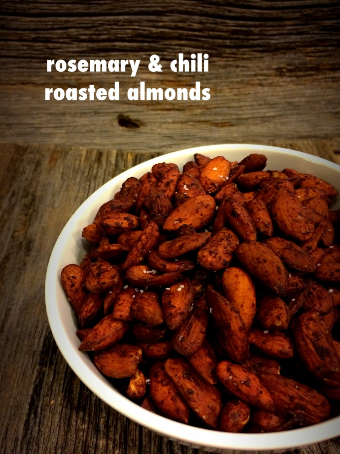 Rosemary & chili roasted almonds