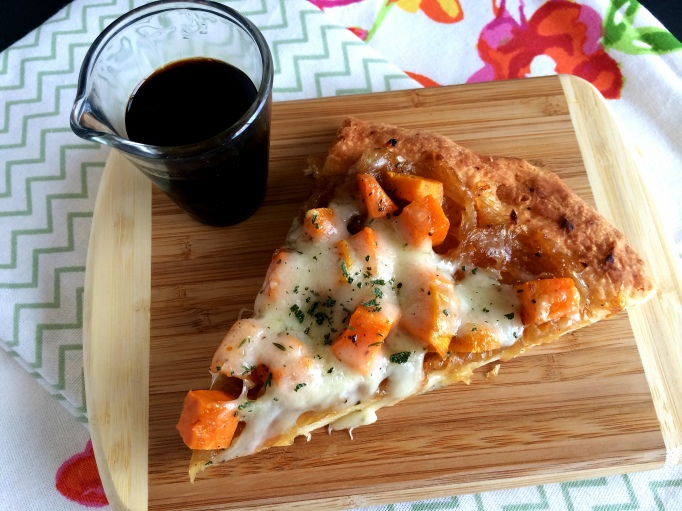 Sweet Potato & Caramelized Onion Pizza