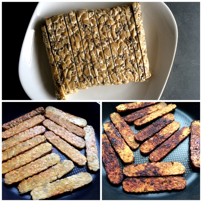 seared tempeh