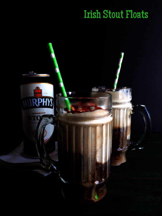 Irish stout floats