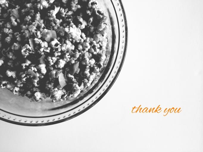 popcorn thank you