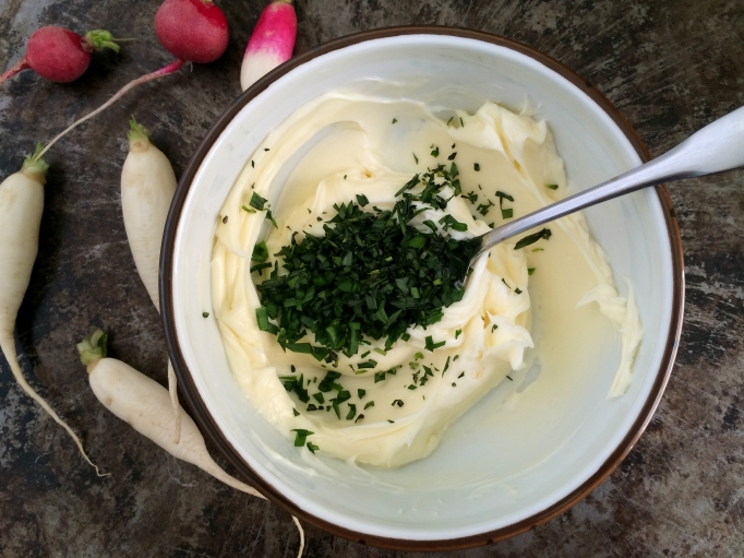 Tarragon - Garlic Chive Butter
