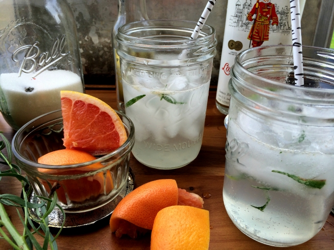 Grapefruit Tarragon Gin & Tonic