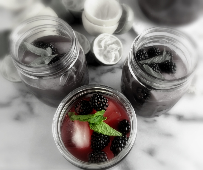 Blackberry Lemon-Limeade