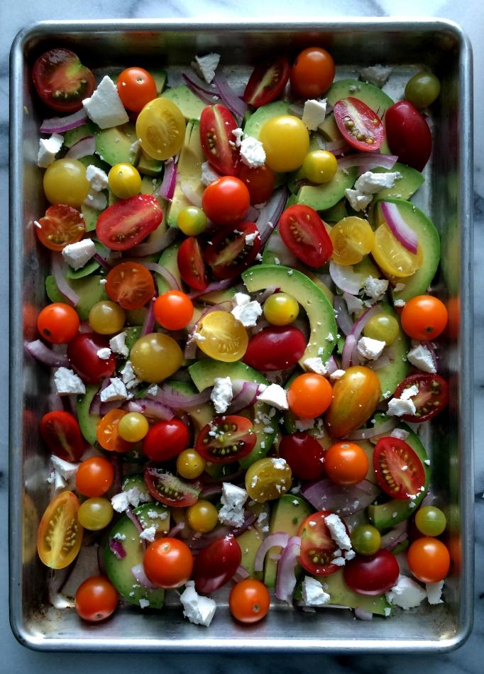 Tomato & Avocado Salad