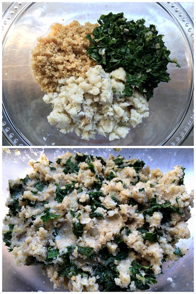Potato Kale Cakes