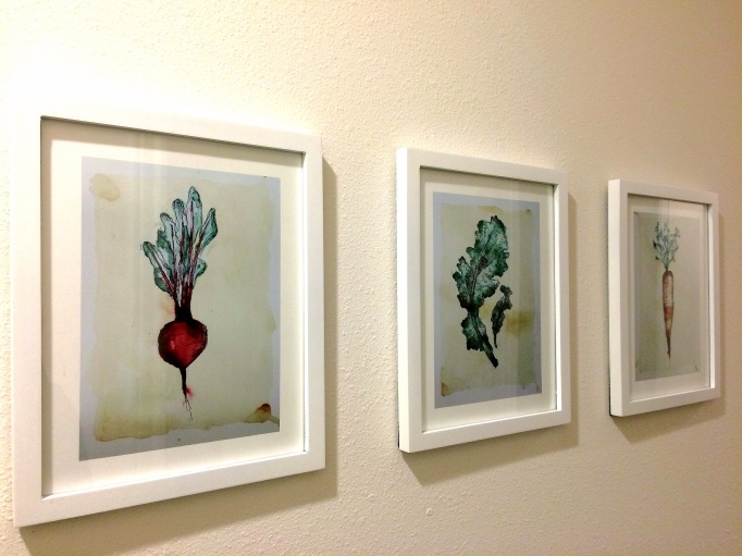 Veggie Art by Kayse of Art, Health, and Happiness Blog