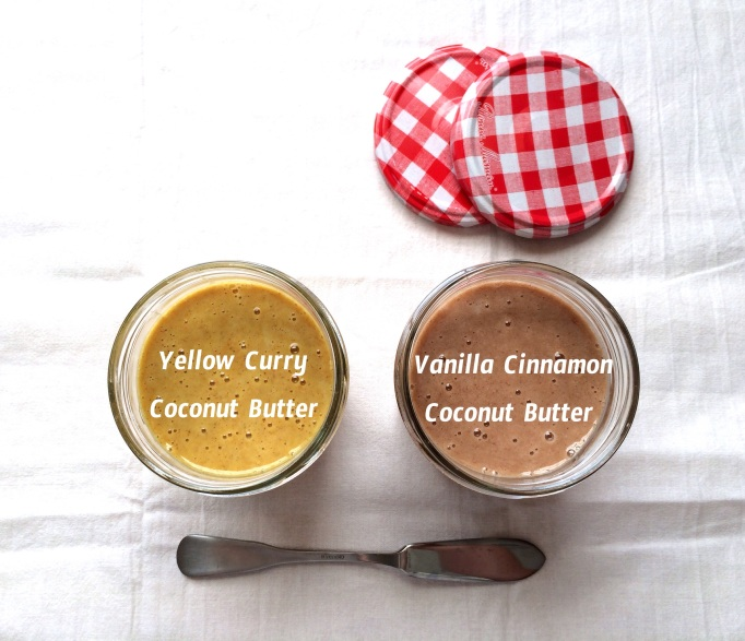DIY Flavored Coconut Butters - Sweet and Savory