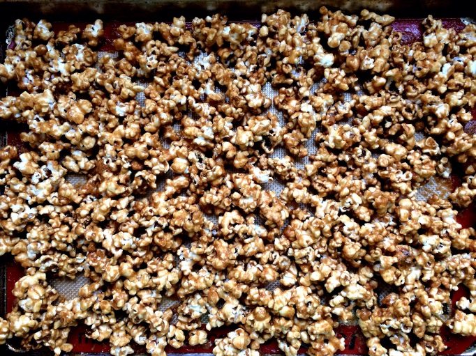 Irish Whiskey Salted Caramel Corn