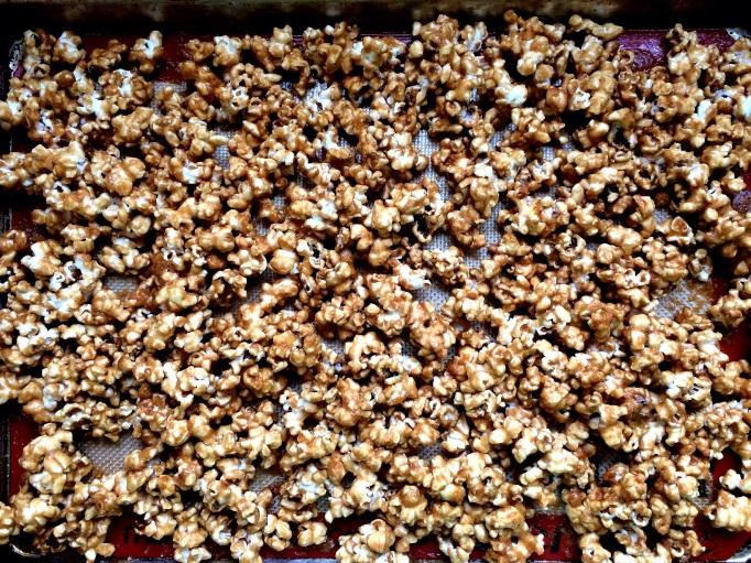 Irish Whiskey Salted Caramel Corn