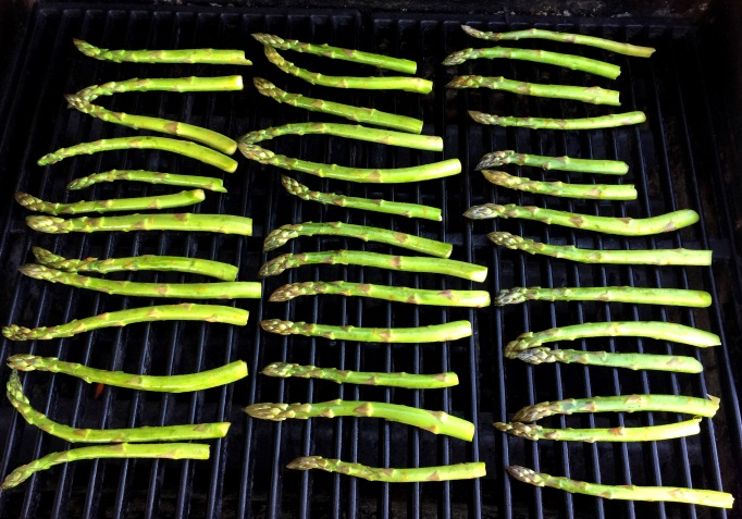 Orange Soy Grilled Asparagus