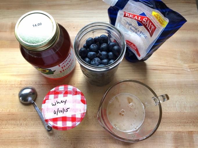 Fermented Blueberries