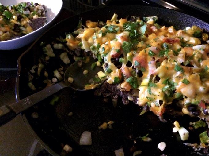 Mega Veggie-Loaded Nachos